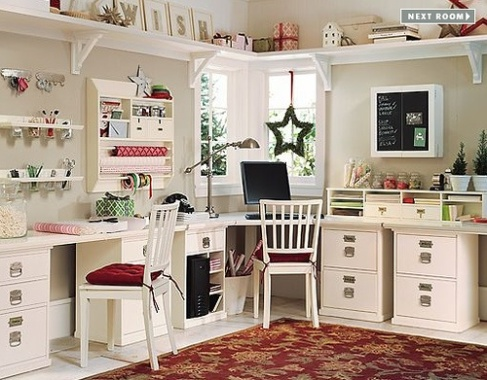 Tips and Ideas for Designing, Organizing and Decorating Your Craft Room